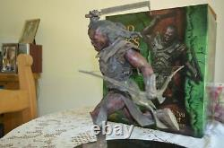 URUK-HAI SCOUT SWORDSMAN Lord Of The Rings Statue By Sideshow Weta