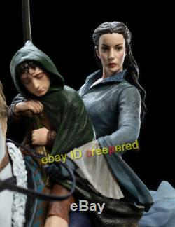 WETA ARWEN AND FRODO ON ASFALOTH The Lord of the Rings 750 LIMITED STATUE