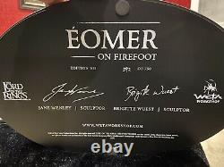 WETA Lord Rings LOTR Eomer on Firefoot Statue! SOLD OUT! #592/ 750! L@@K
