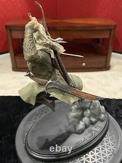 WETA Lord Rings LOTR Hobbit LEGOLAS GREENLEAF Statue! Limited Ed. #0946/ 1500