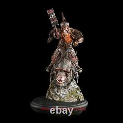 WETA Lord of The Rings Dane The Dwarf King Rides A Pig Resin Statue INSTOCK
