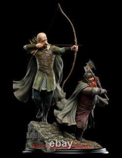 WETA Lord of The Rings LEGOLAS AND GIMLI AT AMON HEN 1/6 Resin Statue INSTOCK