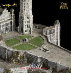 WETA Lord of The Rings Minas Tirith Capital of Gondor Large Statue Model INSTOCK