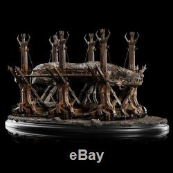 WETA Lord of the Rings Grond Environment Battering Ram Statue Figure NEW