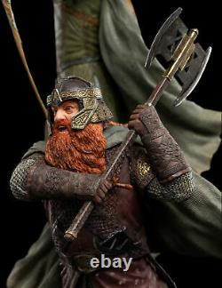 WETA Lord of the Rings Legolas and Gimli at Amon Hen 16 Figure Statue Set NEW