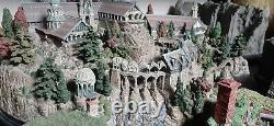 WETA Lord of the rings RIVENDELL statue