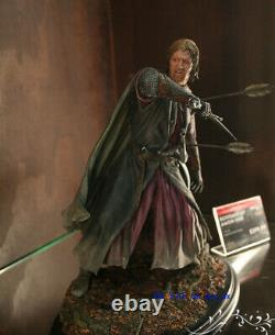 WETA The Lord of the Rings BOROMIR AT AMON HEN Figure Statue Model Figurine New