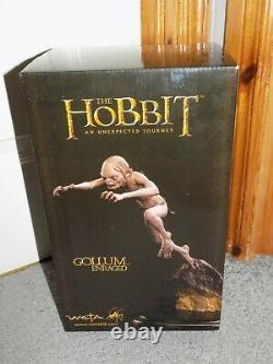 WETA Workshop Lord Rings LOTR Hobbit GOLLUM ENRAGED 16 Scale Statue! Unused
