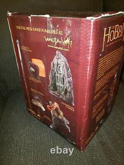 Weta Bifur The Dwarf 16 Statue The Hobbit Tolkien Lord Of The Rings DEFECTS