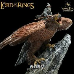 Weta Collectibles The Lord of the Rings Gandalf on Gwaihir Statue New In Stock