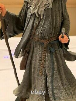 Weta Gandalf The Grey Pilgrim Statue Lord of the Rings Weta Workshop Collectible