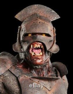 Weta Lord Of The Rings Uruk Hai Swordsman Statue Figure Brand New Never opened