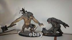 Weta Lord Rings CAVE TROLL OF MORIA Statue NEW & SOLD OUT