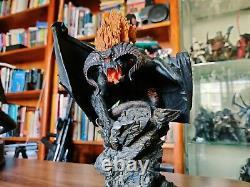 Weta Lord of the Rings Balrog Flame of Udun Polystone Statue