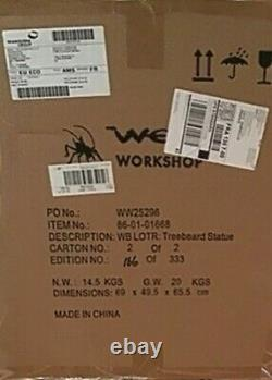 Weta Lord of the Rings, LOTR, Masters Collection TreeBeard, 1/6 Scale Statue