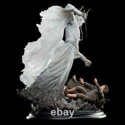 Weta Lord of the Rings THE WITCH-KING & FRODO AT WEATHERTOP Statue Figure New