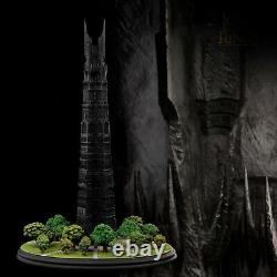 Weta ORTHANC BLACK TOWER OF ISENGARD Statue Lord of the Rings LotR Hobbit