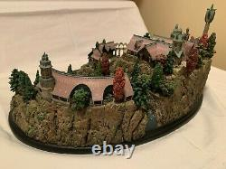 Weta Rivendell Environment Lord of the Rings Statue Weta Workshop Collectible