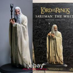 Weta SARUMAN The Lord of the Rings THE White Bust Statue 1/10 Resin Figure 8