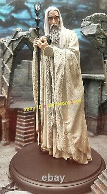 Weta Saruman White Wizards Mini Figurine Model The Lord of the Rings Statue