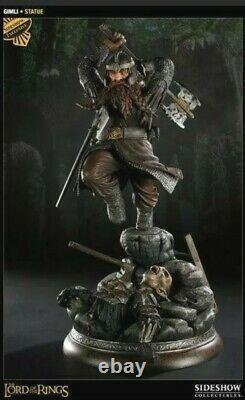 Weta / Sideshow Gimli Exclusive Statue Lord of the Rings LOTR NIMB