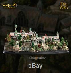 Weta The Lord of the Ring Elf City Rivendell Statue Scene version Model