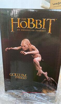 Weta The Lord of the Rings Angry Gollum 1/6 Scale Statue Model INSTOCK