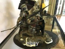 Weta The Lord of the Rings Battle of Five Armies Dwarf Warrior Statue Figures