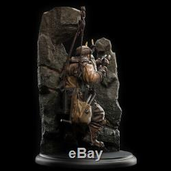 Weta The Lord of the Rings Dwarf Miner Miniature Statue The Hobbit Figure Models
