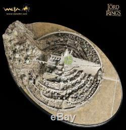 Weta The Lord of the Rings Minas Tirith Diorama Statue Figure Diorama Statue NEW