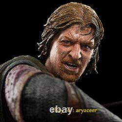 Weta Workshop Lord Of The Ring Boromir At Amon Hen Statue Limited Model In Stock