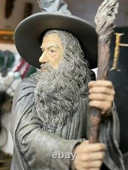 Weta Workshop The Lord of the Rings The Hobbit Gandalf the Grey Statue New Boxed